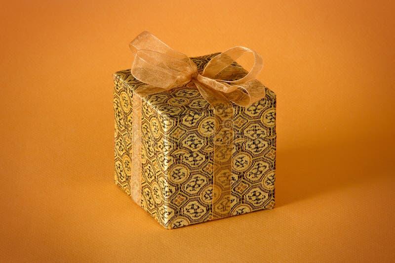 δώρο χρυσό λίγα στοκ φωτογραφία