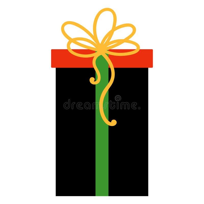Δώρο Kwanzaa διανυσματική απεικόνιση
