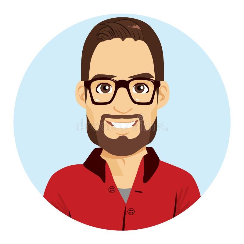 Είδωλο ατόμων Geek απεικόνιση αποθεμάτων