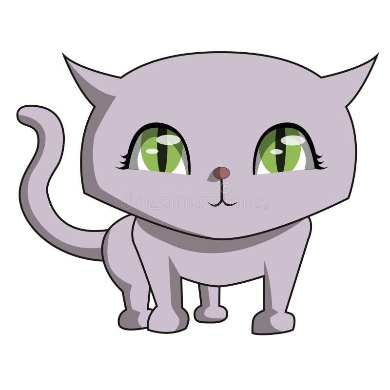 Είμαι τόσο χαριτωμένο meow διανυσματική απεικόνιση