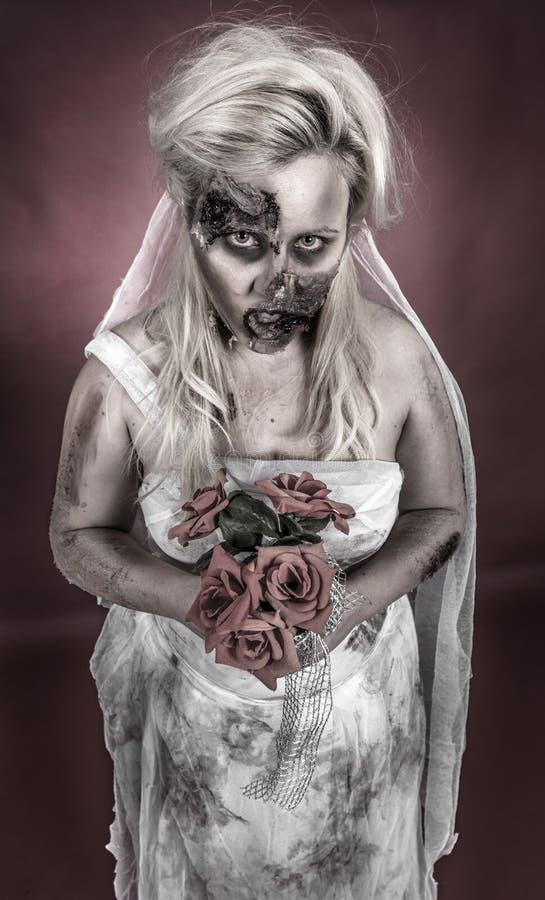 Νύφη Zombie στοκ φωτογραφία με δικαίωμα ελεύθερης χρήσης