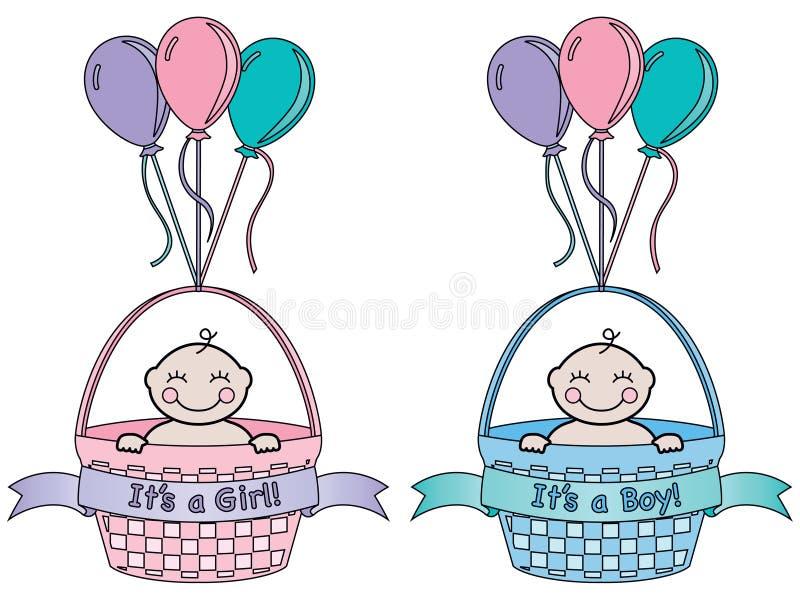 Είναι μια ανακοίνωση μωρών στοκ εικόνα με δικαίωμα ελεύθερης χρήσης