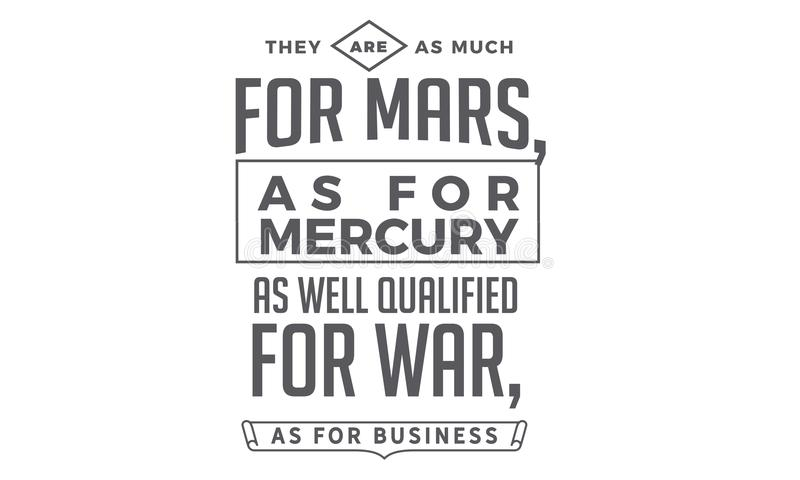 Είναι όπως πολύς για τον Άρη, όπως για τον υδράργυρο ελεύθερη απεικόνιση δικαιώματος