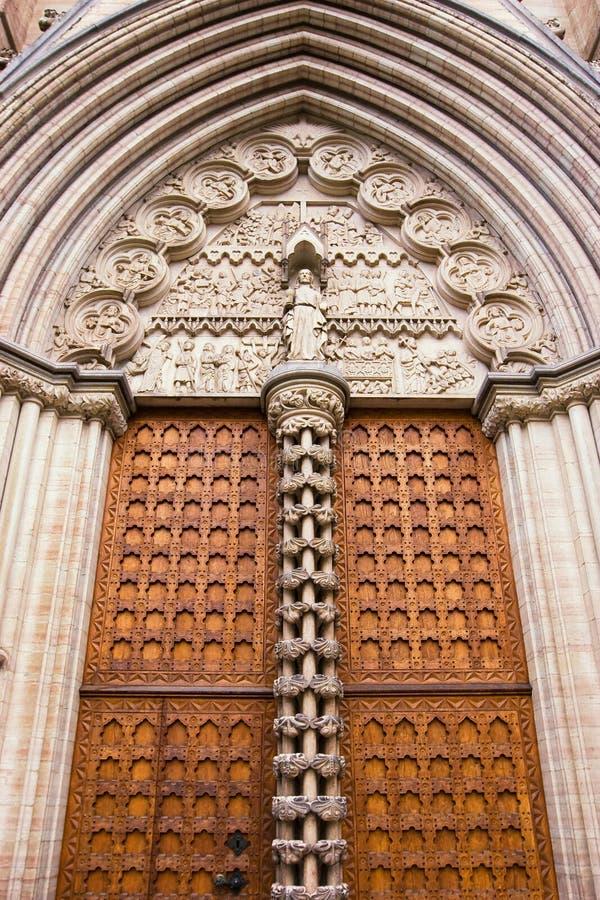 είσοδος εκκλησιών παλ&alph στοκ εικόνες