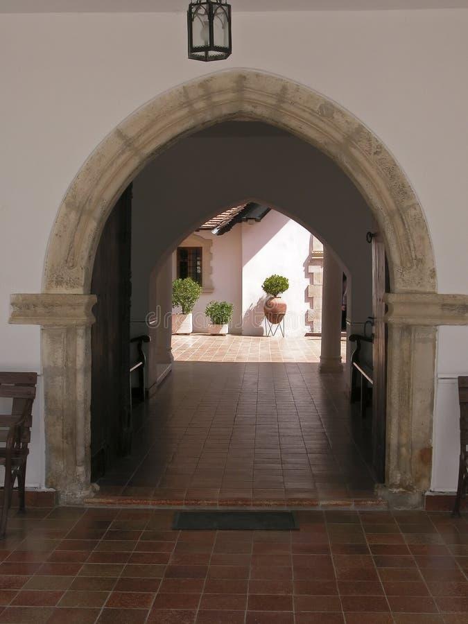 είσοδος εκκλησιών στοκ εικόνες