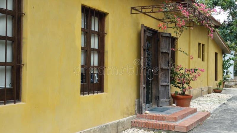 Είσοδος Λα Τρινιδάδ Hacienda στοκ φωτογραφία με δικαίωμα ελεύθερης χρήσης