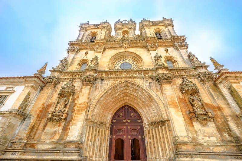 Είσοδος μοναστηριών Alcobaca στοκ φωτογραφία με δικαίωμα ελεύθερης χρήσης