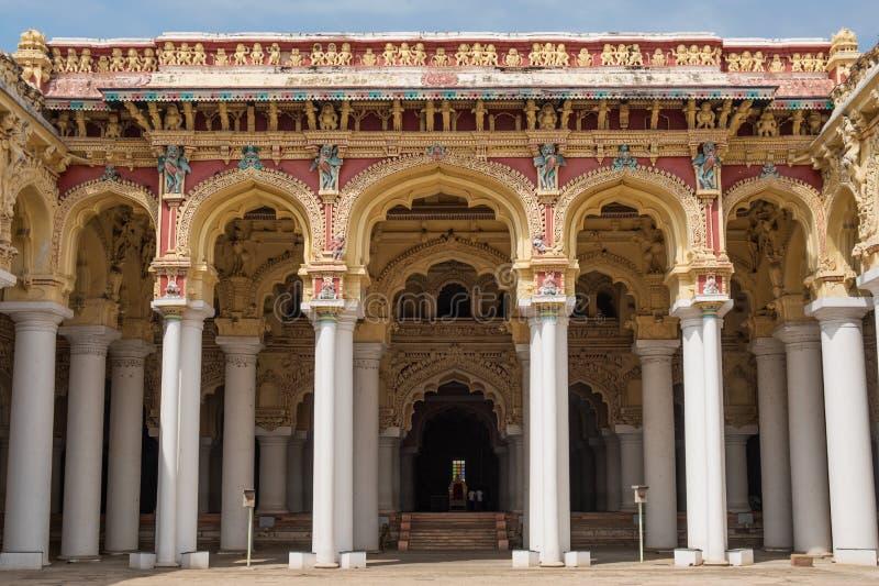 Είσοδος σε ένα ινδικό παλάτι στοκ φωτογραφία με δικαίωμα ελεύθερης χρήσης