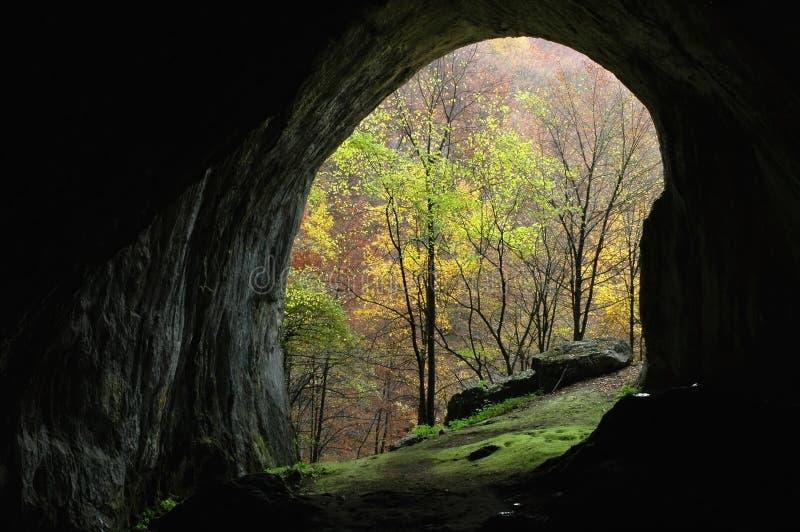 είσοδος σπηλιών στοκ φωτογραφία