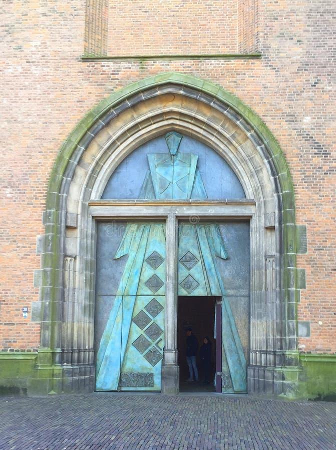 Είσοδος στον πύργο εκκλησιών στοκ εικόνες με δικαίωμα ελεύθερης χρήσης