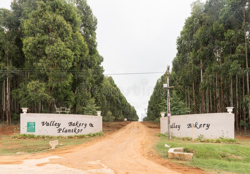 Είσοδος στο αρτοποιείο κοιλάδων και Plantkor κοντά στην καλύπτρα μοναχών στοκ εικόνα με δικαίωμα ελεύθερης χρήσης