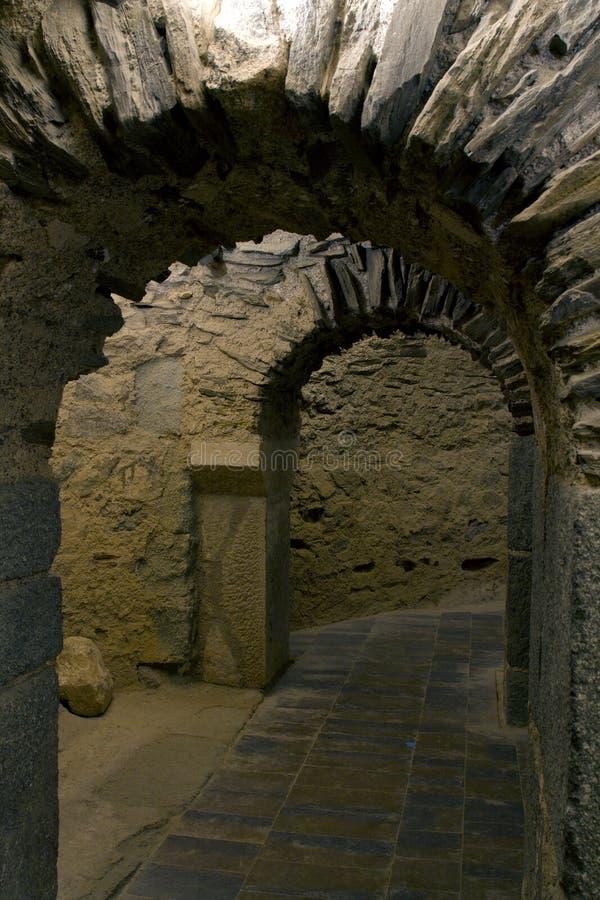 Είσοδος τάφων στοκ φωτογραφία