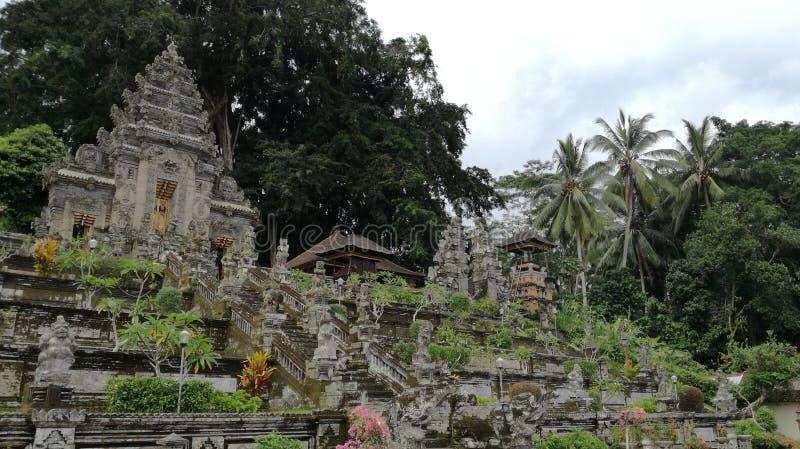 Είσοδος του ναού Pura Kehen, ένας ινδός ναός στο Μπαλί, Ινδονησία στοκ εικόνες με δικαίωμα ελεύθερης χρήσης
