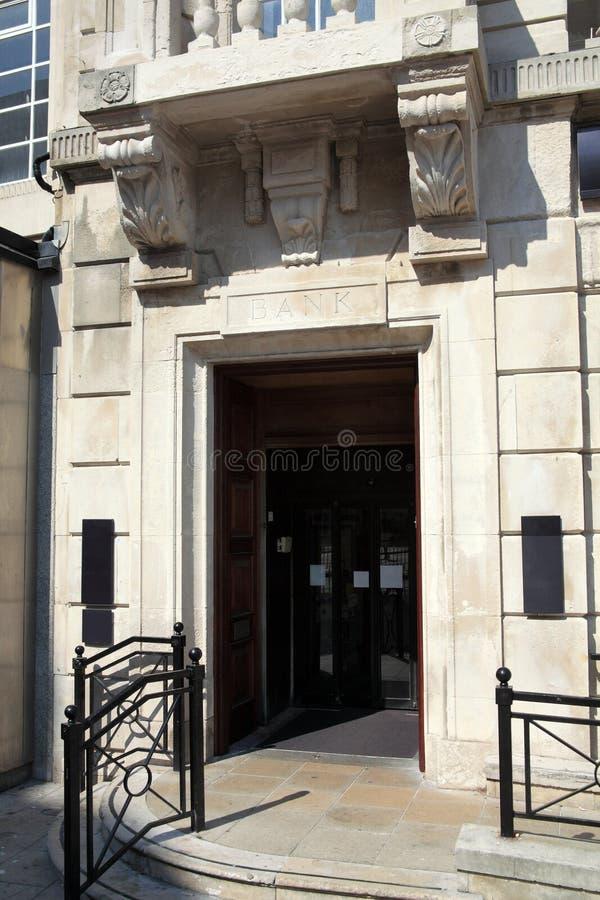 είσοδος τραπεζών στοκ εικόνα