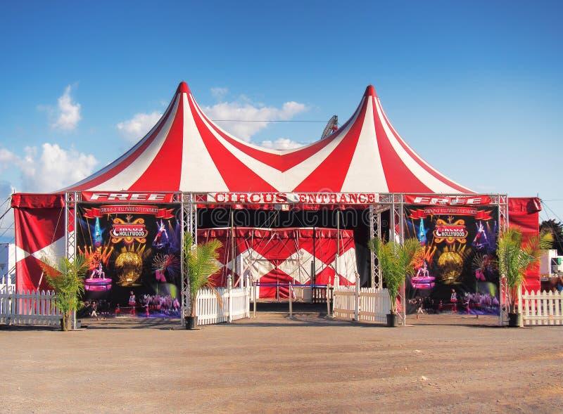 Είσοδος τσίρκων σε μια έκθεση στοκ φωτογραφία με δικαίωμα ελεύθερης χρήσης