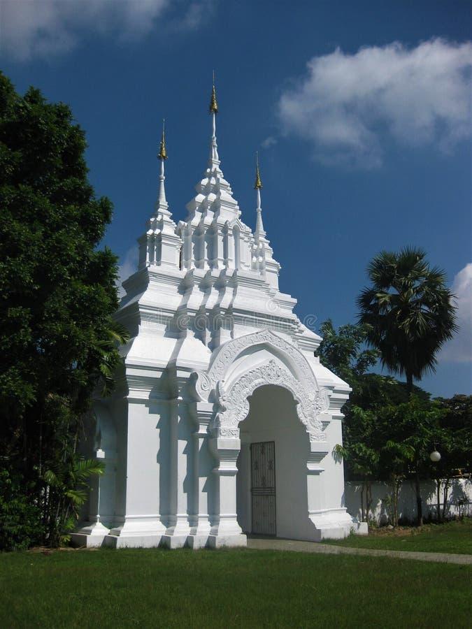 Είσοδος Wat σε Chiang Mai στοκ φωτογραφίες με δικαίωμα ελεύθερης χρήσης