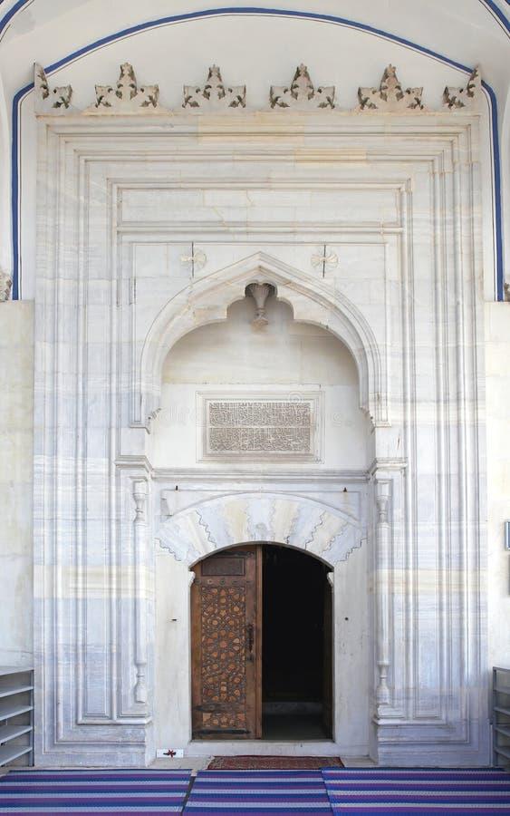 Είσοδος μουσουλμανικών τεμενών στοκ φωτογραφία