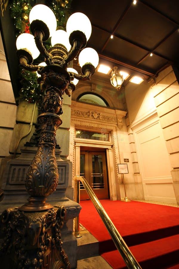 Είσοδος ξενοδοχείων πολυτελείας στοκ εικόνες με δικαίωμα ελεύθερης χρήσης