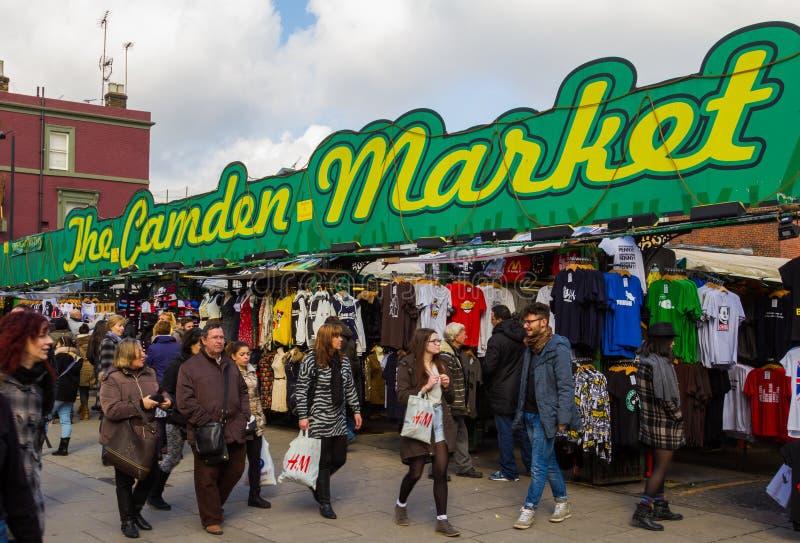 Είσοδος στην αγορά του Κάμντεν στοκ φωτογραφία με δικαίωμα ελεύθερης χρήσης