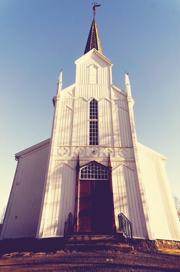 Είσοδος στην παλαιά εκκλησία στοκ εικόνες με δικαίωμα ελεύθερης χρήσης