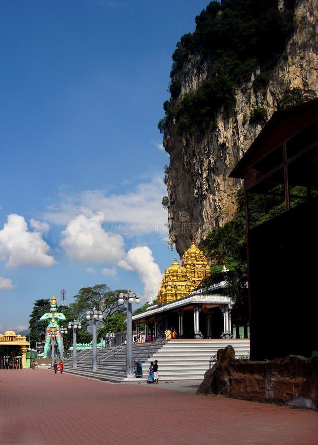 Είσοδος στις σπηλιές Batu, Κουάλα Λουμπούρ, Μαλαισία στοκ εικόνες με δικαίωμα ελεύθερης χρήσης