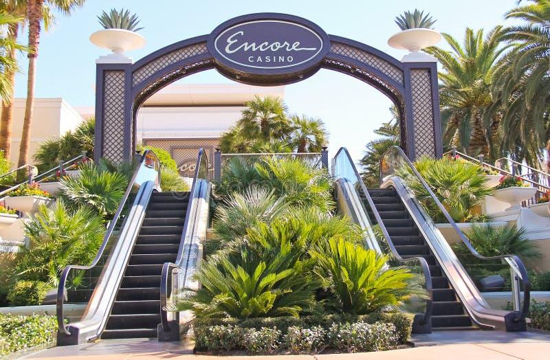 Είσοδος στο ξενοδοχείο Encore και τη χαρτοπαικτική λέσχη στο Λας Βέγκας, Νεβάδα. στοκ εικόνες