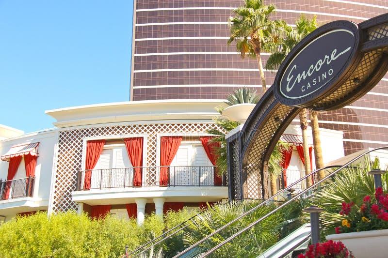 Είσοδος στο ξενοδοχείο Encore και τη χαρτοπαικτική λέσχη στο Λας Βέγκας, Νεβάδα. στοκ φωτογραφία με δικαίωμα ελεύθερης χρήσης