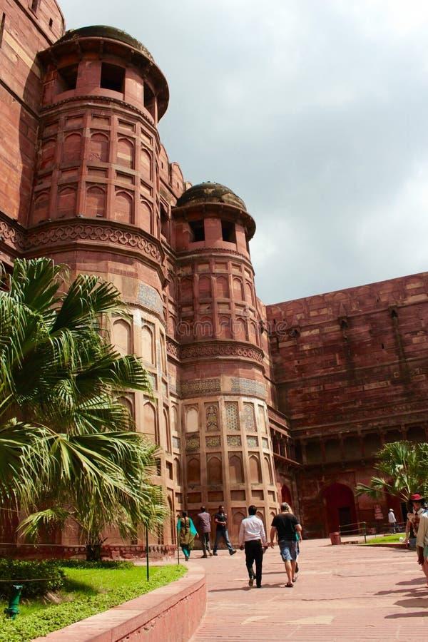 Είσοδος στο οχυρό Agra στοκ φωτογραφία με δικαίωμα ελεύθερης χρήσης