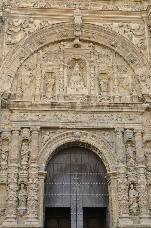 Είσοδος της εκκλησίας κοινοβίων στοκ εικόνα με δικαίωμα ελεύθερης χρήσης