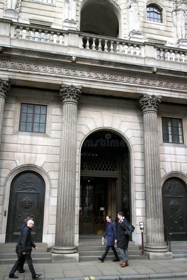 Είσοδος Τράπεζας της Αγγλίας στοκ φωτογραφίες με δικαίωμα ελεύθερης χρήσης