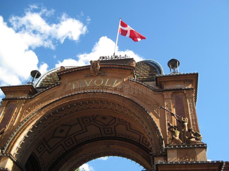Είσοδος Tivoli στοκ φωτογραφία με δικαίωμα ελεύθερης χρήσης
