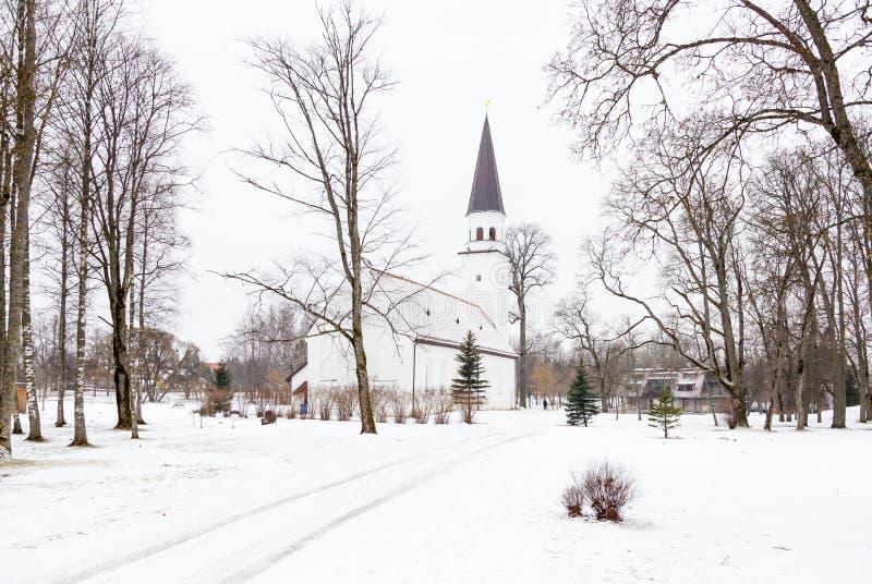 Εβαγγελική λουθηρανική εκκλησία Sigulda στοκ φωτογραφίες