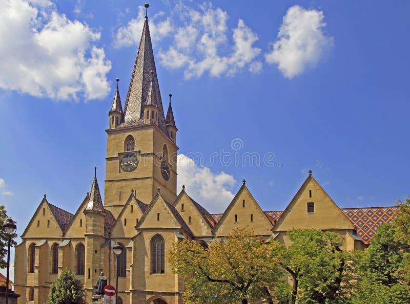 Εβαγγελικός καθεδρικός ναός Αγίου Mary Sibiu στοκ φωτογραφίες