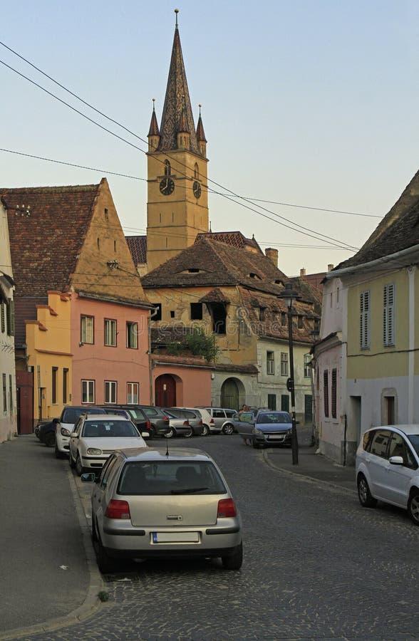 Εβαγγελικός καθεδρικός ναός Αγίου Mary Sibiu στοκ φωτογραφία με δικαίωμα ελεύθερης χρήσης