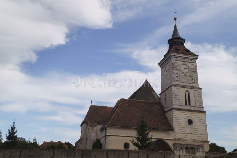 Εβαγγελικός-λουθηρανική εκκλησία ST Bartholomew Biserica Sfantul Bartolomeu, Brasov, Ρουμανία στοκ εικόνες