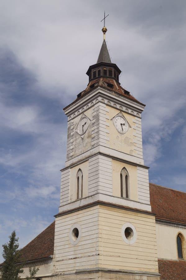 Εβαγγελικός-λουθηρανική εκκλησία ST Bartholomew Biserica Sfantul Bartolomeu, Brasov, Ρουμανία στοκ εικόνα με δικαίωμα ελεύθερης χρήσης
