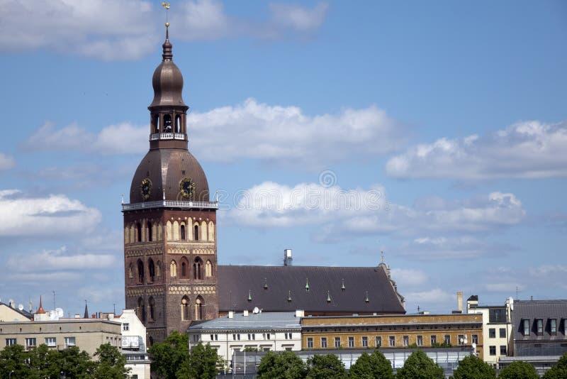 Εβαγγελικός λουθηρανικός καθεδρικός ναός θόλων της Ρήγας r στοκ φωτογραφίες με δικαίωμα ελεύθερης χρήσης