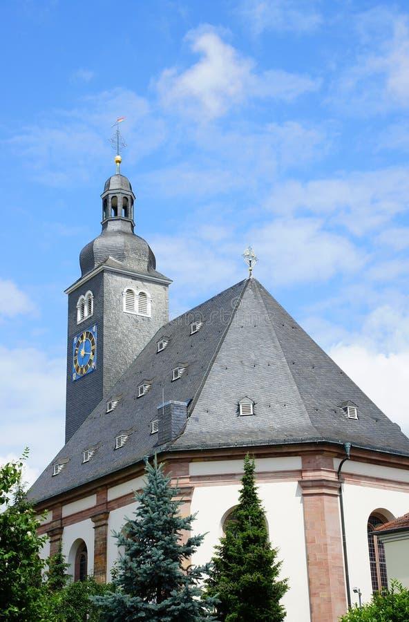 Εβαγγελική εκκλησία σε Zweibrücken στοκ φωτογραφία με δικαίωμα ελεύθερης χρήσης