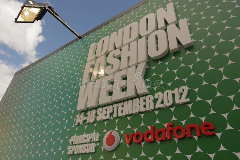Εβδομάδα μόδας του Λονδίνου στοκ φωτογραφία με δικαίωμα ελεύθερης χρήσης