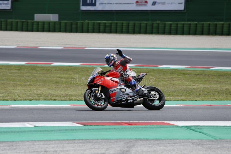Εβδομάδα 2018 παγκόσμιου Ducati στοκ εικόνα