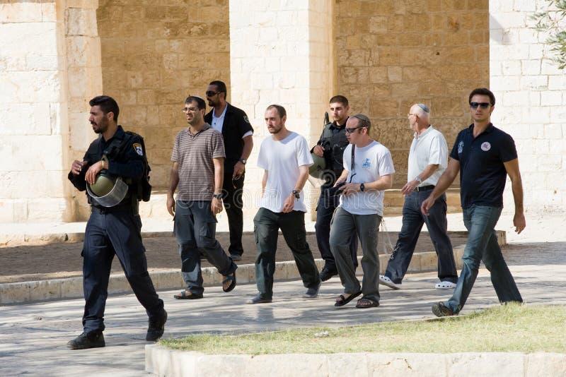 Εβραίοι στο ναός-τετράγωνο στοκ φωτογραφία με δικαίωμα ελεύθερης χρήσης