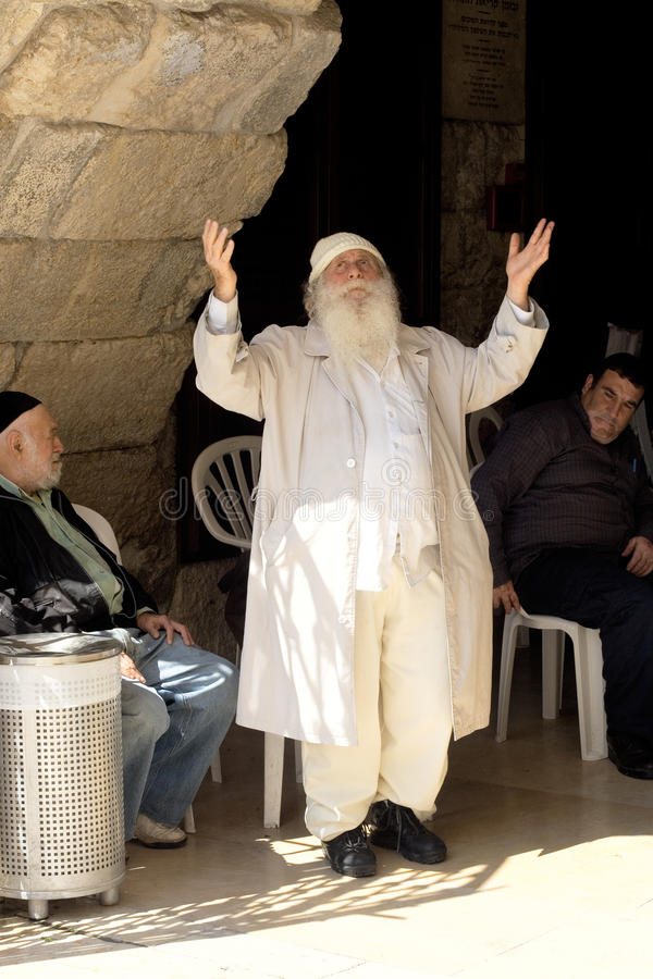 Εβραίος προσεύχεται το & στοκ φωτογραφία με δικαίωμα ελεύθερης χρήσης