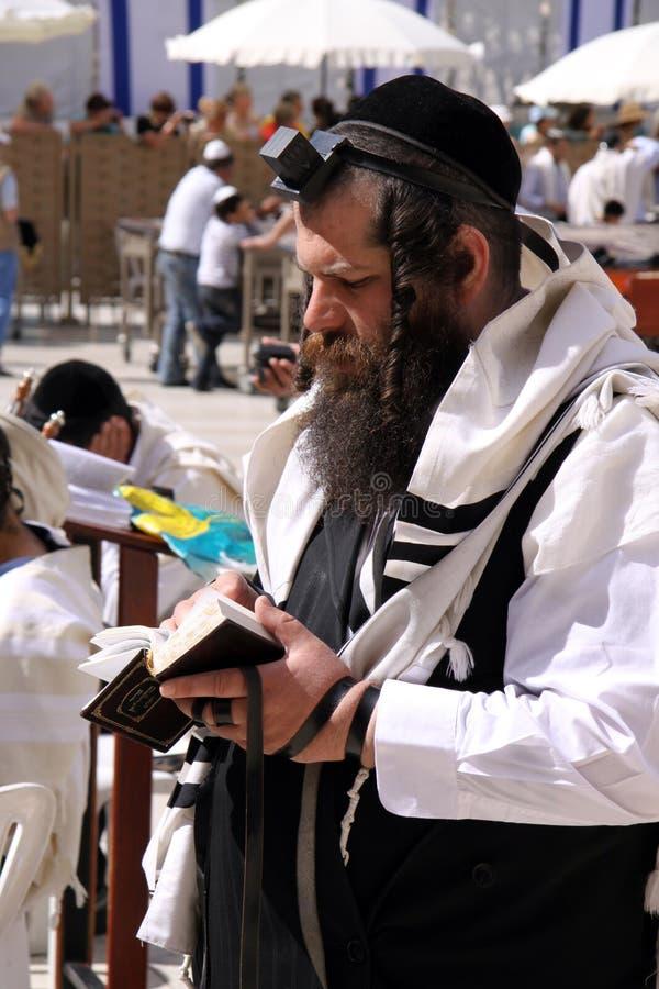 εβραϊκή προσευχή στοκ φωτογραφία
