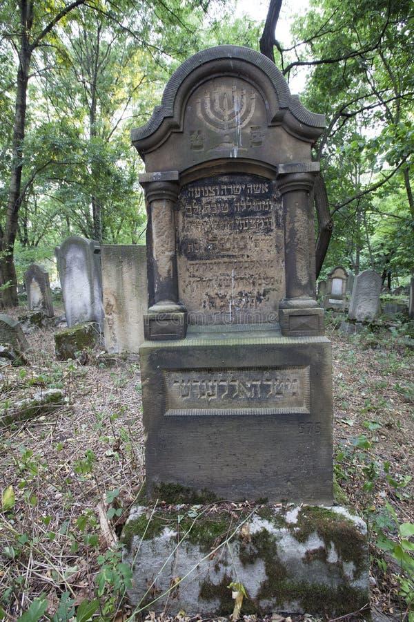 εβραϊκός παλαιός νεκροταφείων στοκ εικόνα