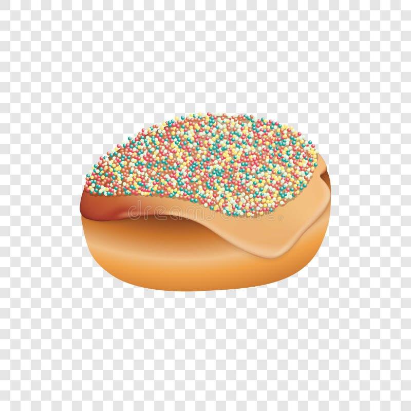 Εβραϊκό εικονίδιο αρτοποιείων, ρεαλιστικό ύφος ελεύθερη απεικόνιση δικαιώματος