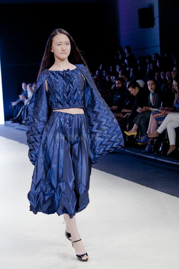 Εβδομάδα μόδας του Βανκούβερ στοκ φωτογραφία
