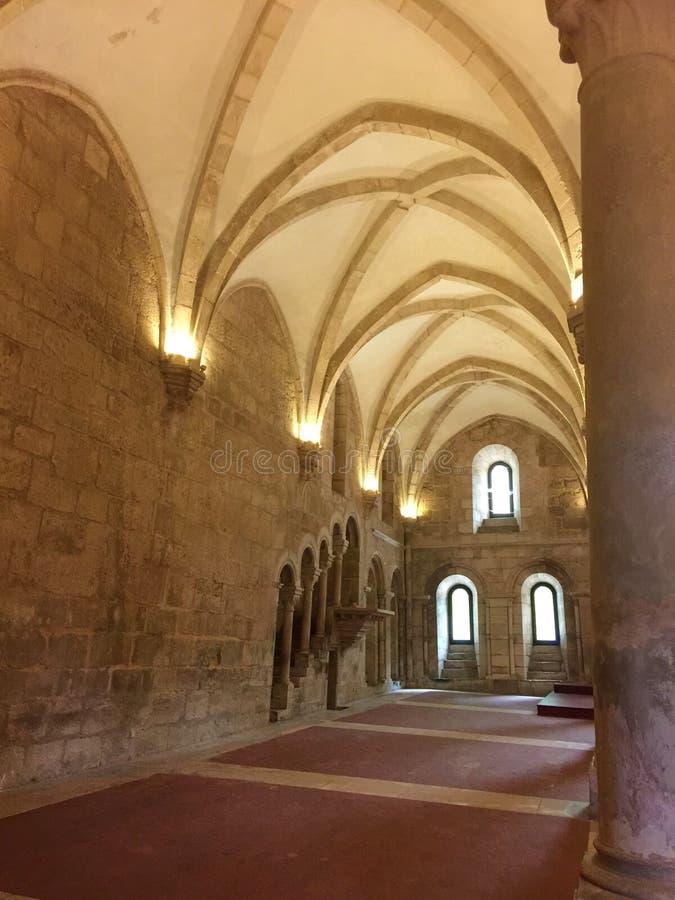 Εγγενές όνομα πορτογαλικά μοναστηριών Alcobaça: Mosteiro de Alcobaça στοκ εικόνες με δικαίωμα ελεύθερης χρήσης