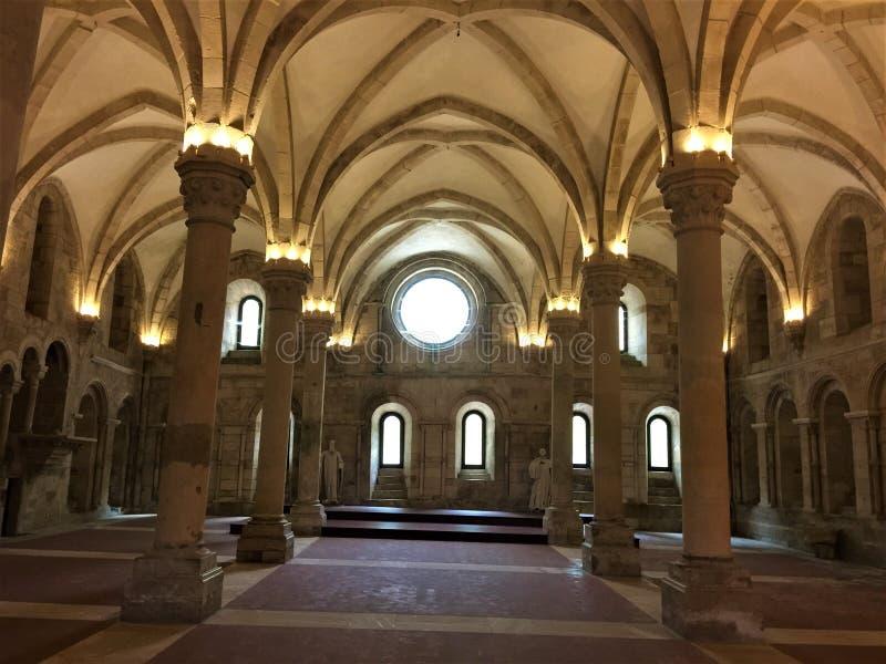 Εγγενές όνομα πορτογαλικά μοναστηριών Alcobaça: Mosteiro de Alcobaça στοκ εικόνες