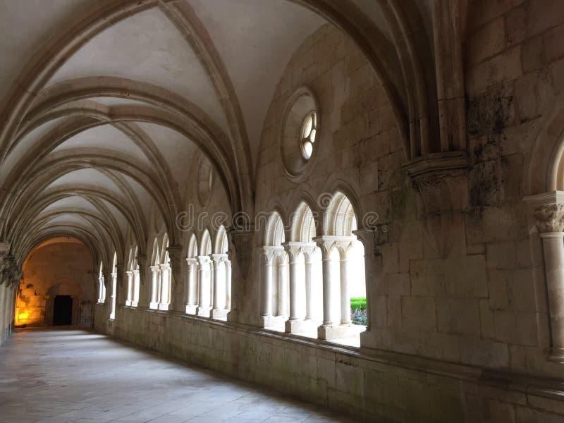 Εγγενές όνομα πορτογαλικά μοναστηριών Alcobaça: Mosteiro de Alcobaça στοκ φωτογραφία με δικαίωμα ελεύθερης χρήσης