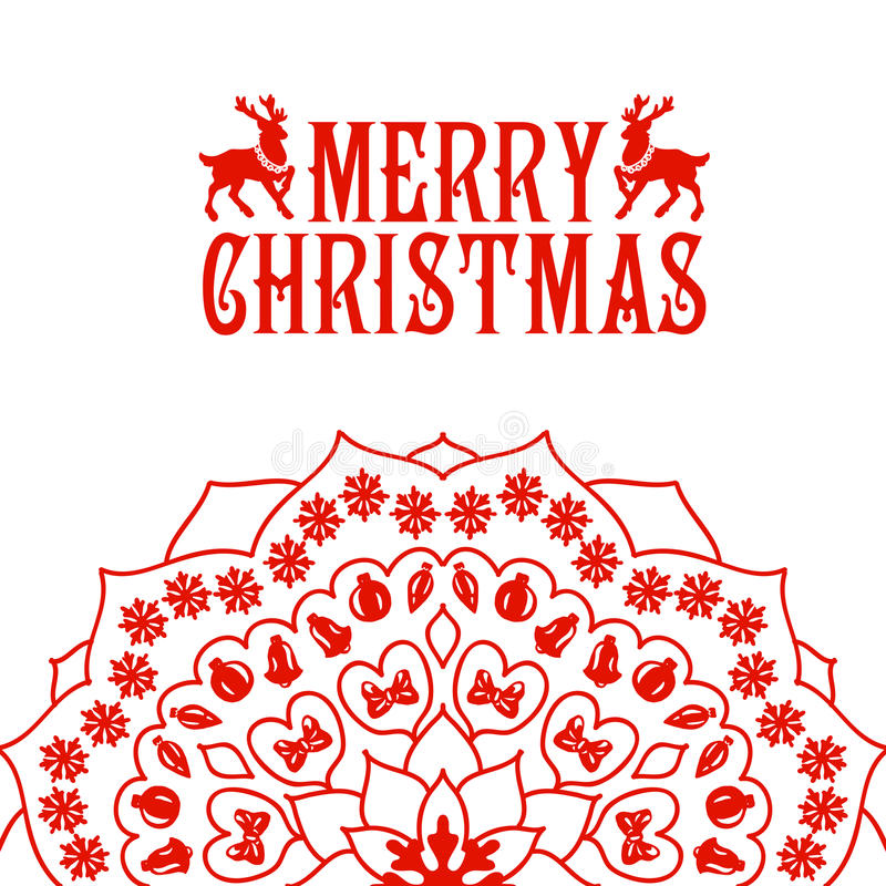 Download Εγγραφή Καλών Χριστουγέννων Κάρτα συγχαρητηρίων Διανυσματική απεικόνιση - εικονογραφία από οργανωμένος, δώρο: 62703663